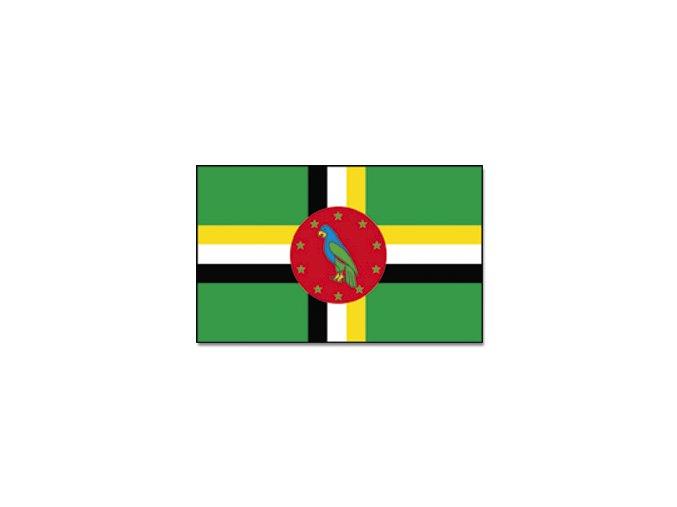 Vlajka Dominika o velikosti 90 x 150 cm