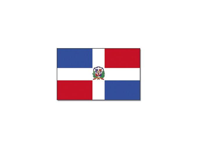 Vlajka Dominikánská republika o velikosti 90 x 150 cm