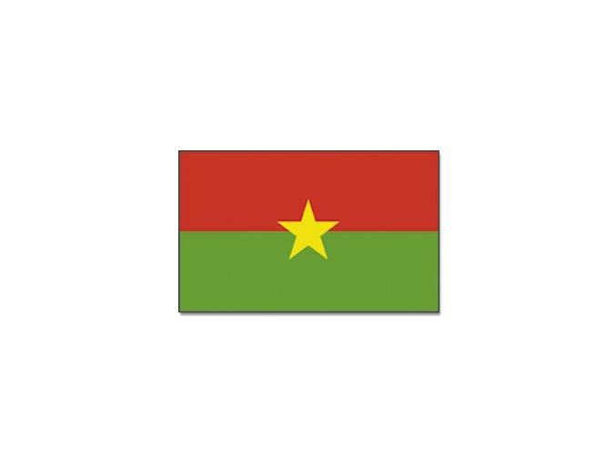 Vlajka Burkina Faso o velikosti 90 x 150 cm