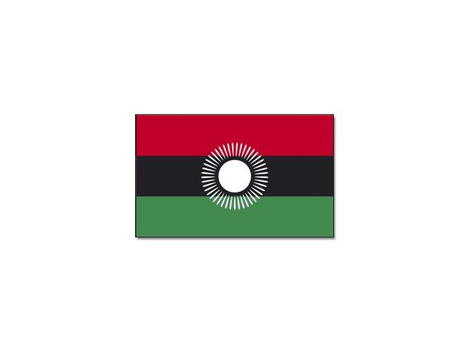 Vlajka Malawi o velikosti 90 x 150 cm