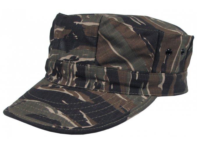 US mariňácká čepice s kšiltem tiger stripe s potiskem