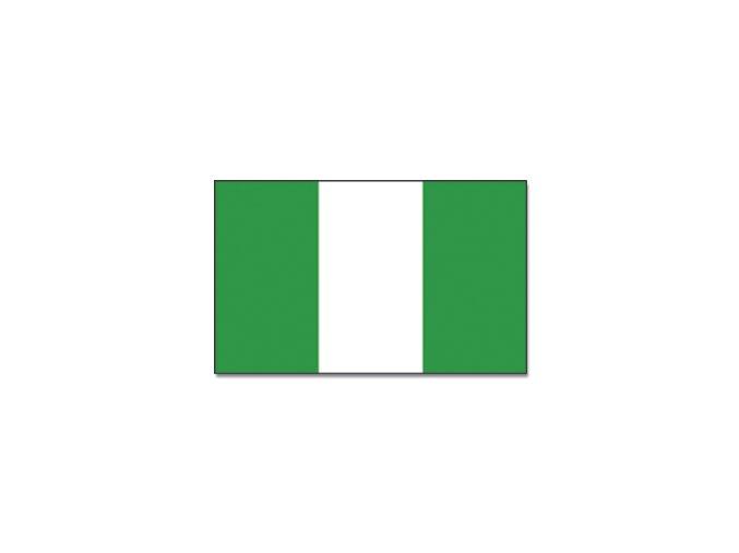 Vlajka Nigerie o velikosti 90 x 150 cm