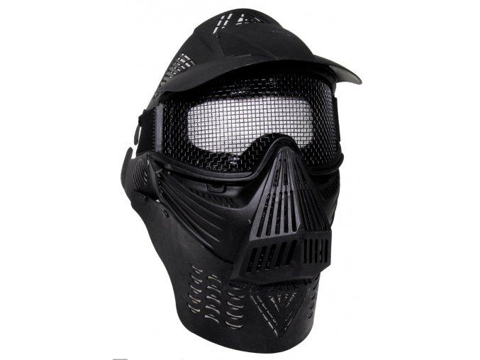 Maska Paintball černá