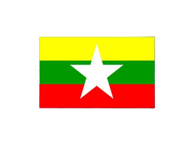 Vlajka Myanmar (Barma) o velikosti 90 x 150 cm
