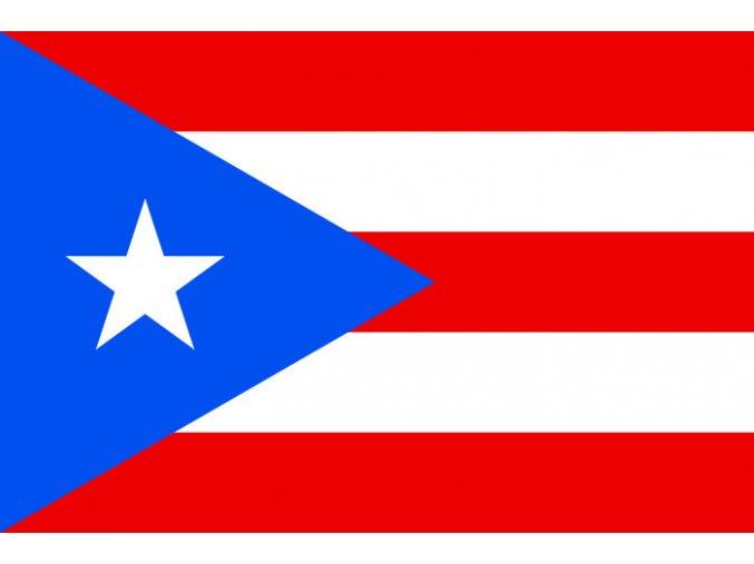 Vlajka Portoriko o velikosti 90 x 150 cm