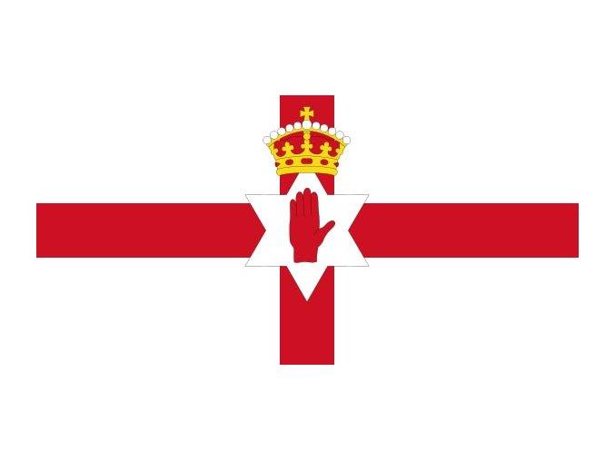 Vlajka Severní Irsko o velikosti 90 x 150 cm