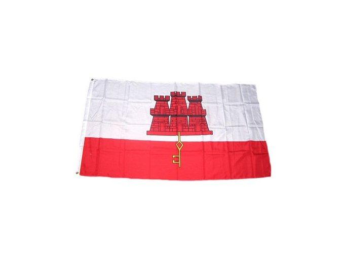Vlajka Gibraltar 90 x 150 cm