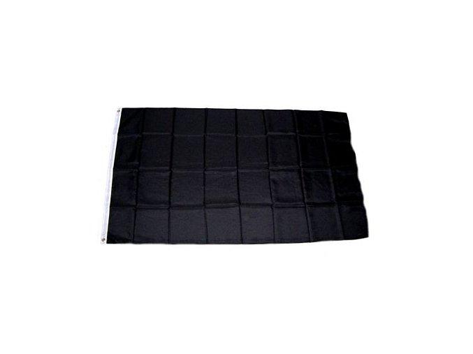 Smuteční vlajka 90 x 150 cm (černá vlajka)