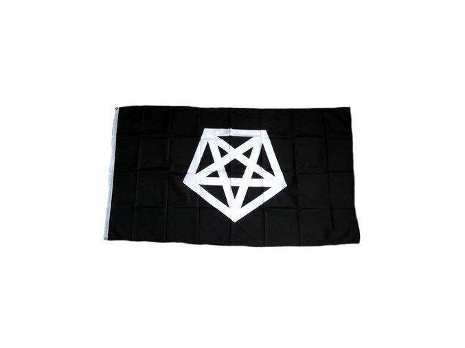 Vlajka Pentagram 90 x 150 cm