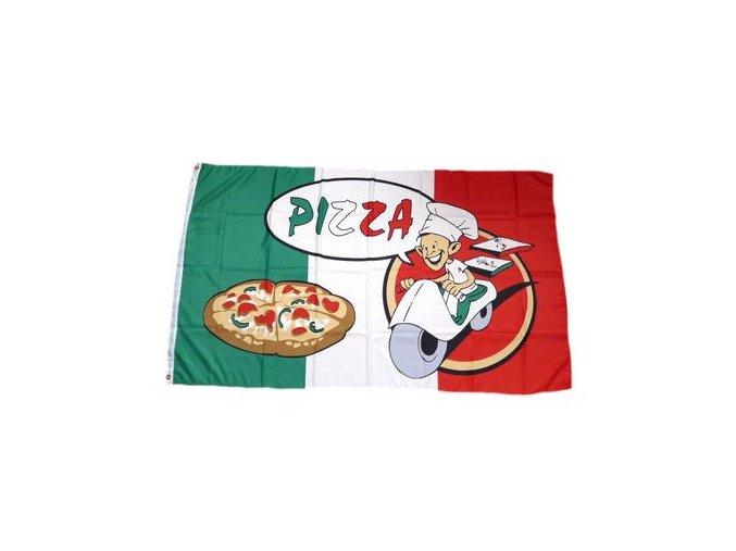 Vlajka PIZZA 90 x 150 cm