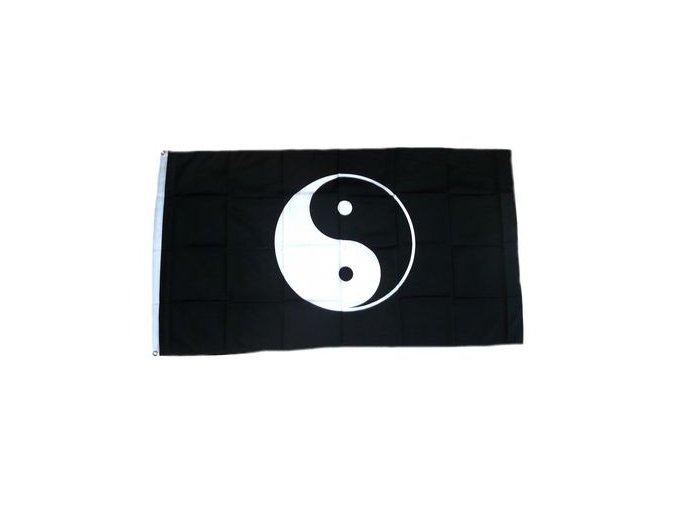 Vlajka Jing-Jang 90 x 150 cm