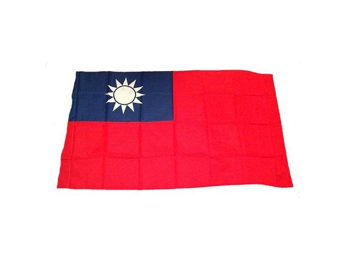 Vlajka Taiwan o velikosti 90 x 150 cm