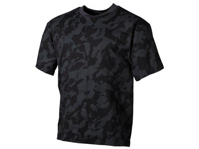 US Tričko nightcamo - krátké rukávy