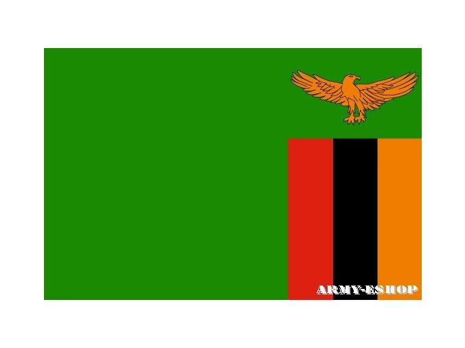Vlajka Zambie o velikosti 90 x 150 cm