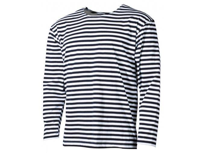 Ruské námořní tričko - dlouhé rukávy