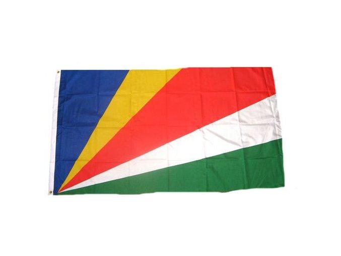 Vlajka Seychely o velikosti 90 x 150 cm