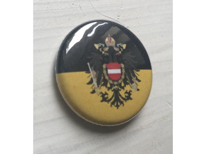 Placka Rakousko-Uhersko (císařství) 25mm