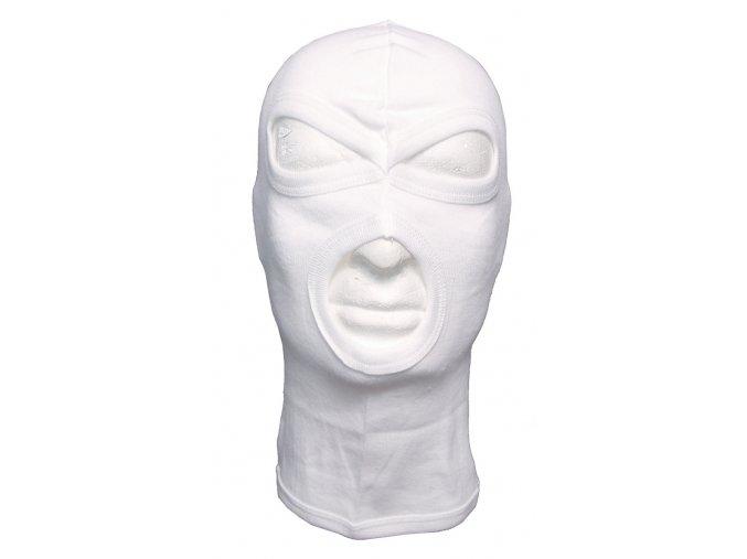 Kukla, 3-otvory slabý materiál bílá barva 100 % bavlna