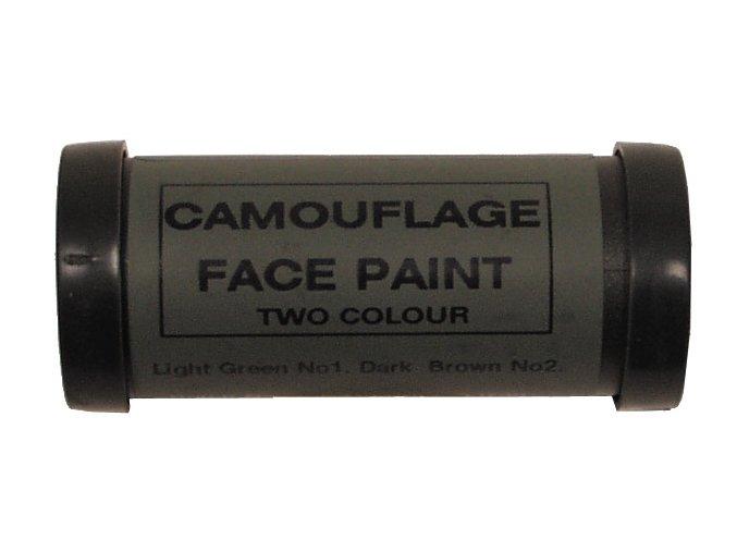 Britské maskovací barvy - hnědá, zelená