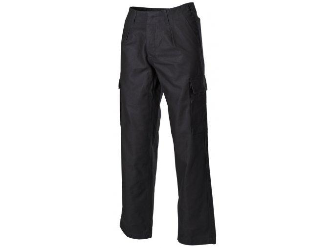 BW polní kalhoty, černá barva
