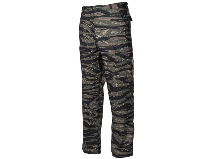 US kalhoty BDU Rip Stop tiger stripe