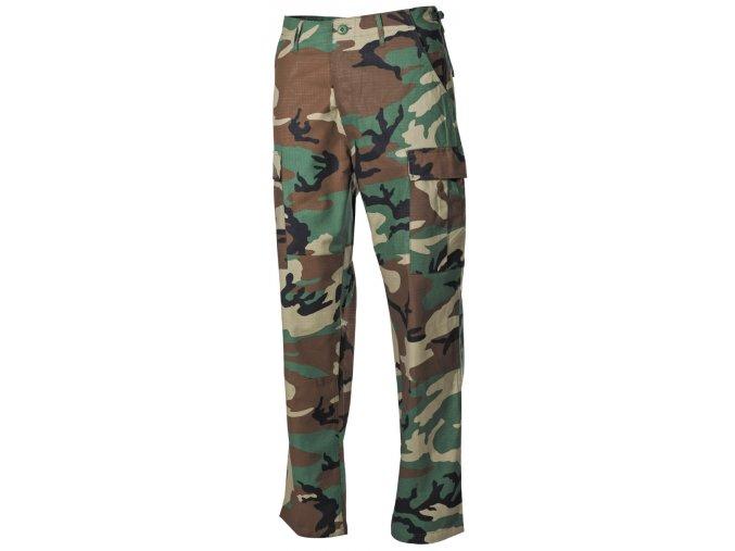 US kalhoty BDU Rip Stop woodland