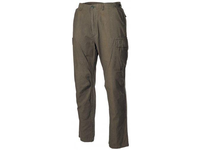 US klasické kalhoty Vietnam Rip Stop olivové-seprané
