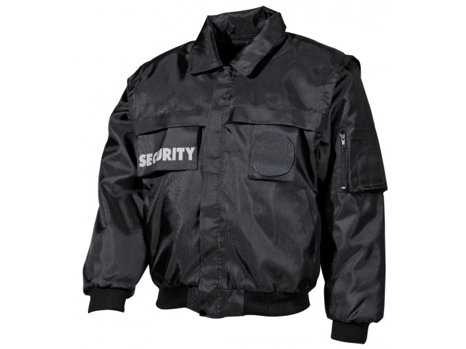 Bunda Security černá