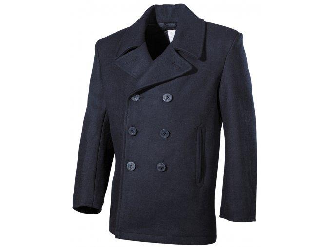 US námořní kabát PEA COAT modrý