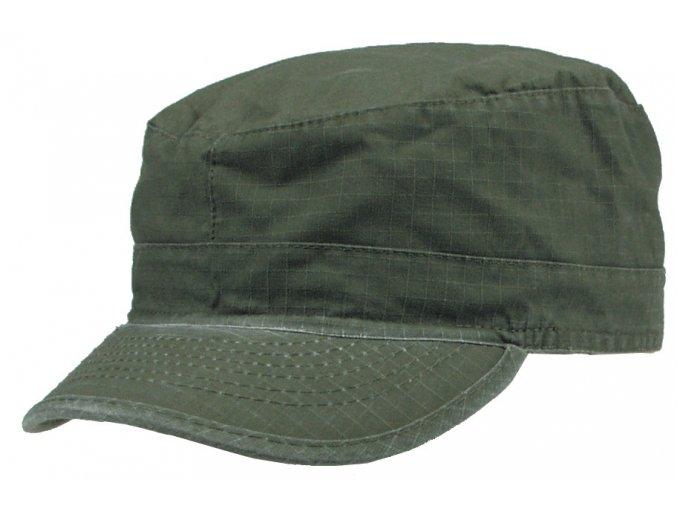 US BDU polní čepice s kšiltem Rip Stop olivová-sepraná
