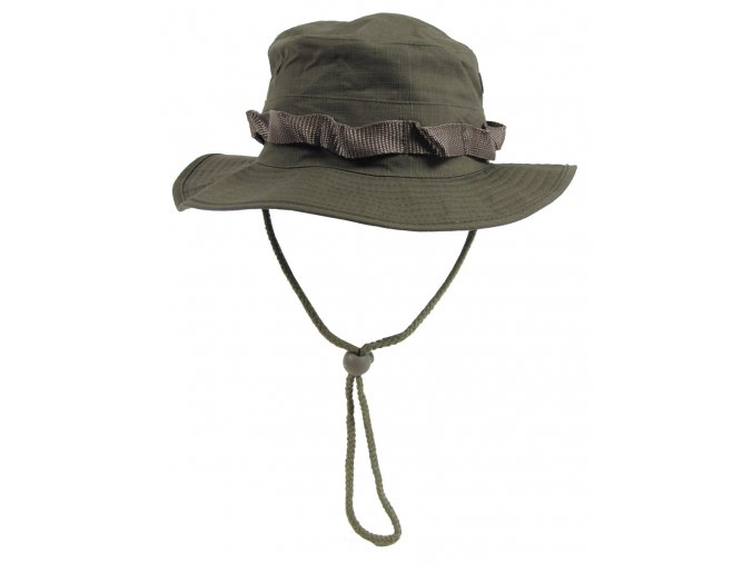 US GI Klobouk do džungle (GI Boonie) khaki Rip Stop