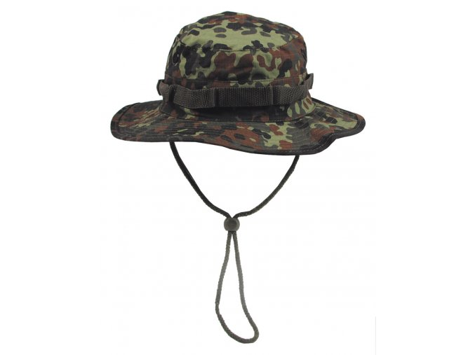 US GI Klobouk do džungle (GI Boonie) flecktarn Rip Stop