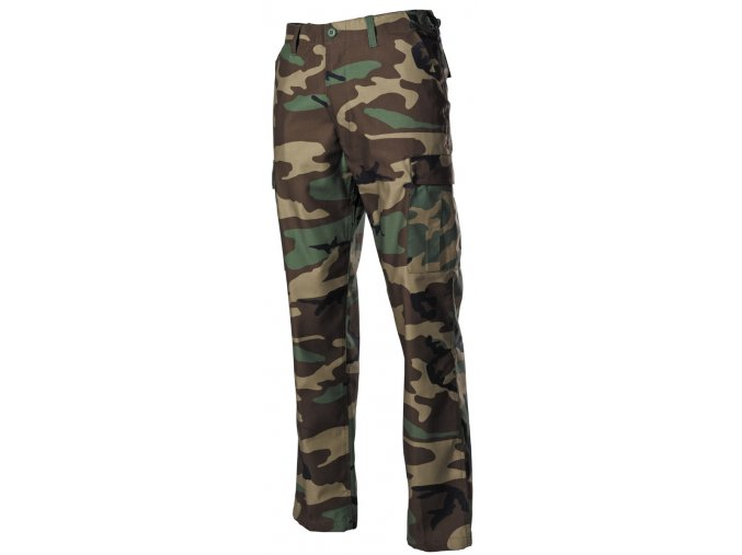 US klasické kalhoty BDU woodland
