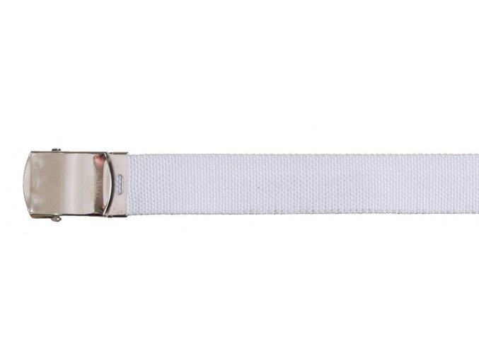 Opasek 30 mm bílý