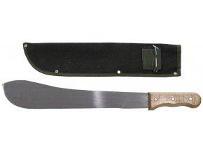 Bolo mačeta s obalem dřevěná rukojeť