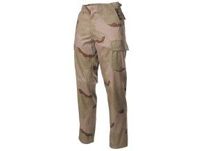 US klasické kalhoty BDU desert 3 barvy