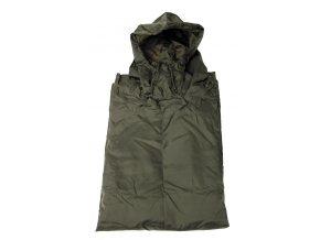 US pončo - poncho olivový plášť 144 x 223 cm