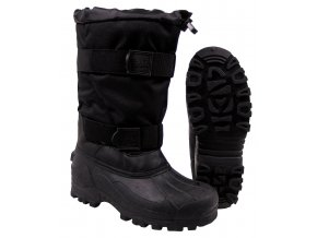 Mrazuvzdorné zimní boty Fox -40 °C s pryžovou podrážkou černé e40e8fd9ef