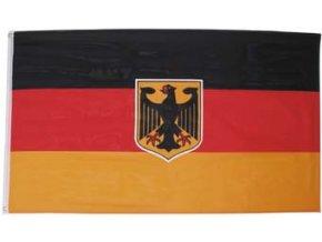 Vlajka Německo s orlicí o velikosti 90 x 150 cm AKCE