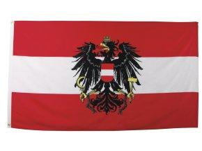 Vlajka Rakousko o velikosti 90 x 150 cm AKCE