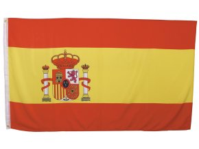 Vlajka Španělsko o velikosti 90 x 150 cm AKCE