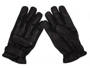 Kožené rukavice s vycpávkami na kloubech