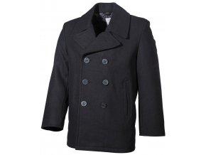 US námořní kabát PEA COAT černý
