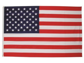 Vlajka USA o velikosti 90 x 150 cm AKCE