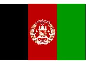 Vlajka Afgánistánu o velikosti 90 x 150 cm