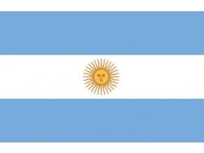 Vlajka Argentiny o velikosti 90 x 150 cm