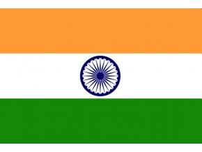Vlajka Indie o velikosti 90 x 150 cm