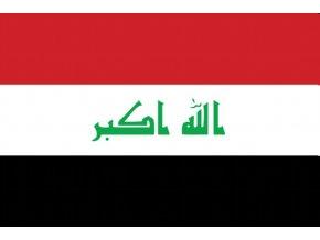 Vlajka Iráku o velikosti 90 x 150 cm