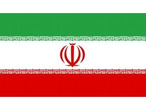 Vlajka Iránu o velikosti 90 x 150 cm