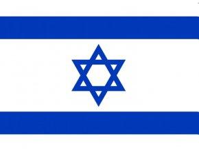 Vlajka Izrael o velikosti 90 x 150 cm